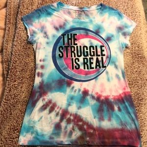 Tops - Tie dyed T-shirt